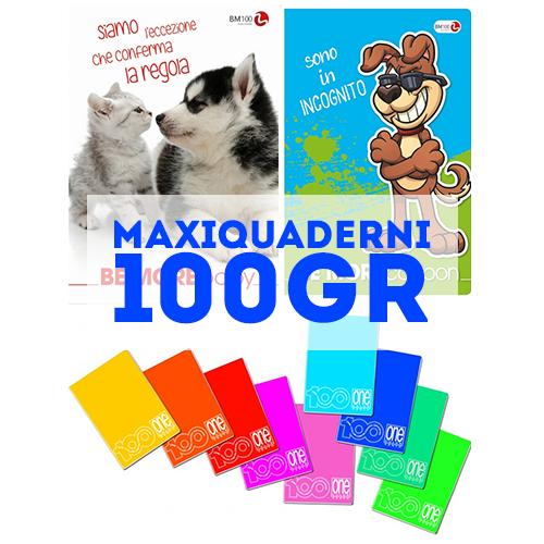 MaxiQuaderni 100gr