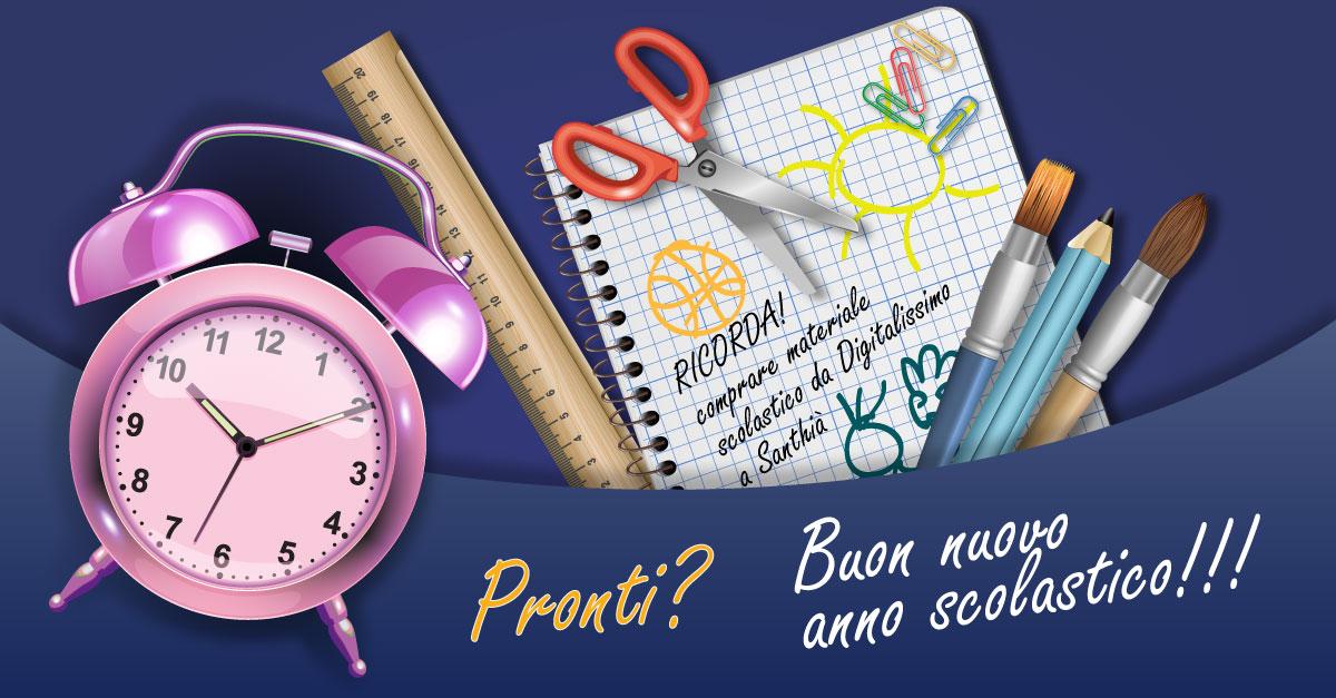 Buon Nuovo anno scolastico