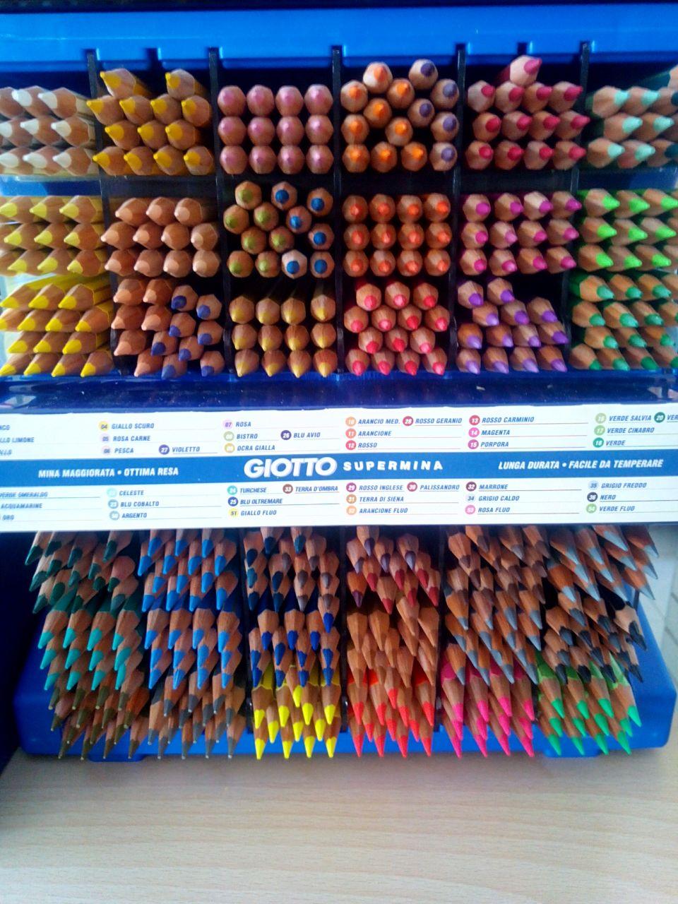 Pastelli Giotto