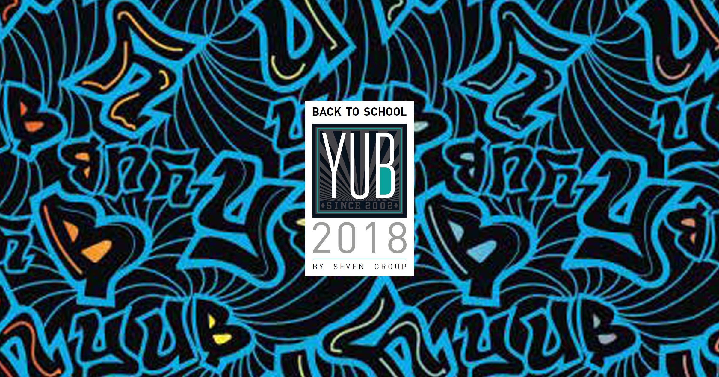 Seven Yub 2018 – Prenotazioni