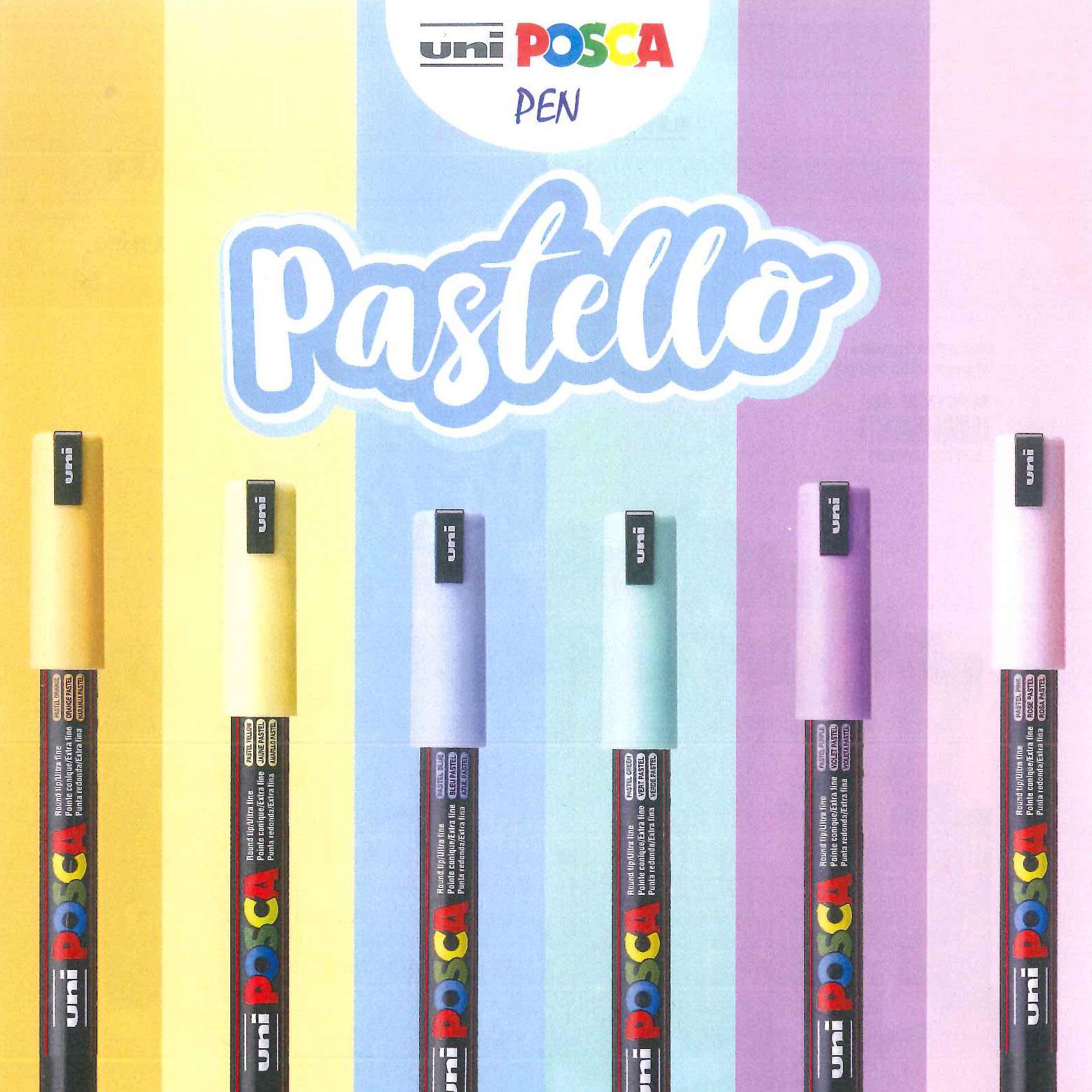 Uniposca Pen Pastello