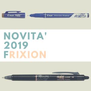 Novità 2019 Frixion