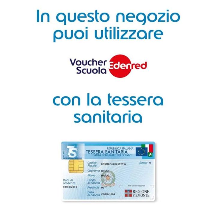 Voucher scuola Edenred 2019/2020 Regione Piemonte